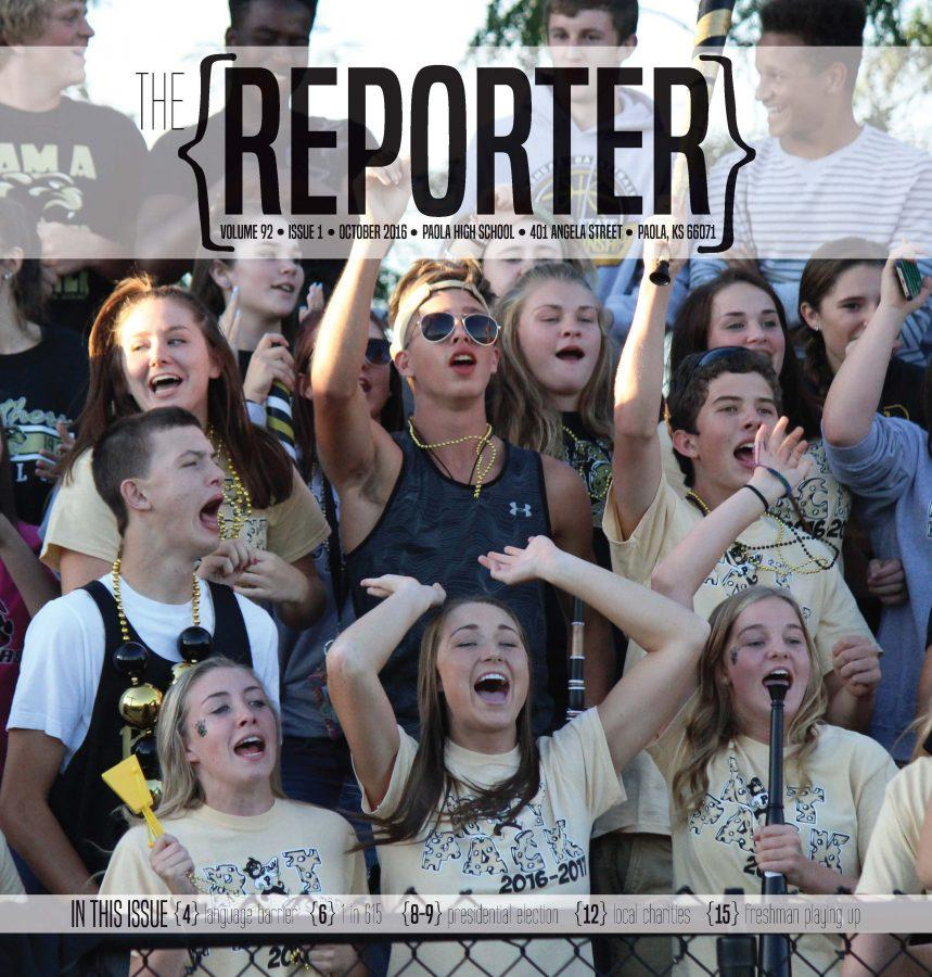 The Reporter- Issue 1 October 2016