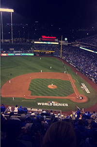 The Royals Win the World Series- Game