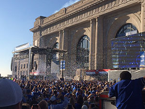 The Royals Win the World Series- Stay