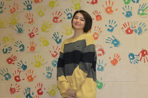 Freshman Hailey McDiffett